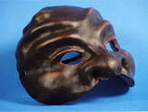 Commedia dell'arte masks. Brighella mask.