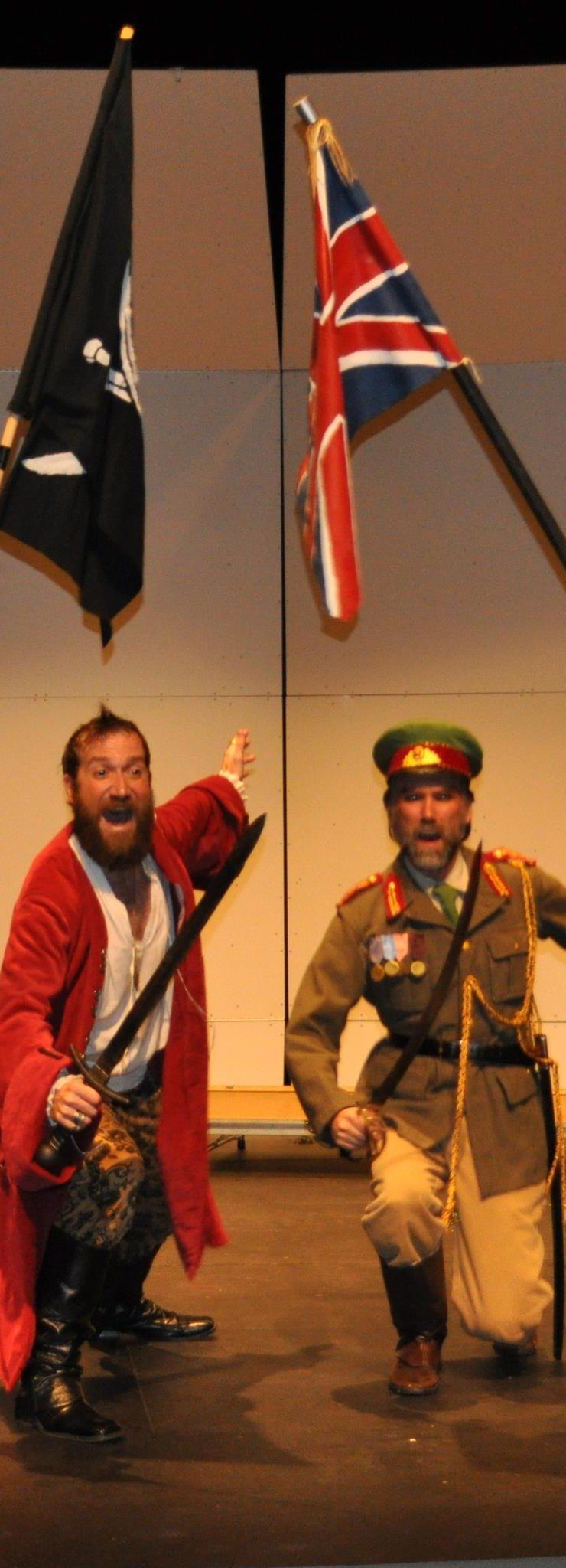 Pirates of Penzance-rollicking success!