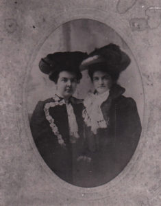 two strong women in the late 1800s