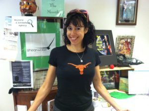 Holly love the Texas Longhorns